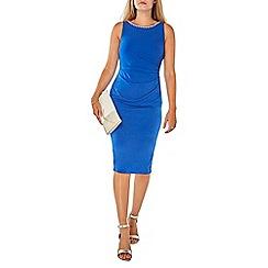 Dorothy Perkins - Billie & blossom blue embellished bodycon dress