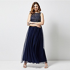 Dorothy Perkins - Showcase navy harper maxi dress