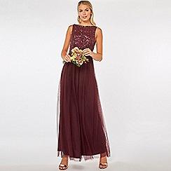 Dorothy Perkins - Showcase mulberry harper maxi dress