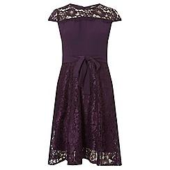 Dorothy Perkins - Billie & blossom petite purple lace dress