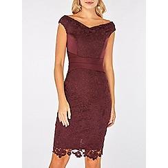 Dorothy perkins scarlett b mulberry sophie bodycon dress