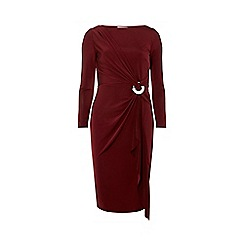 Dorothy Perkins - Lily & franc mulberry knot front midi dress