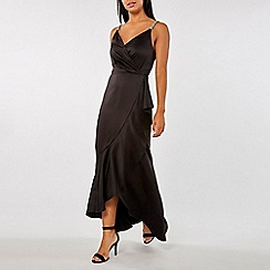 Dorothy Perkins - Luxe black camisole maxi dress