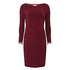 Dorothy Perkins - Billie & blossom petite mulberry bodycon dress