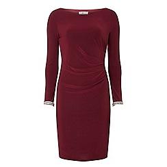 Dorothy Perkins - Billie & blossom petite mulberry bodycon dress