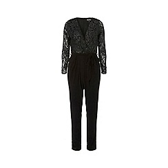 Dorothy Perkins - Billie & blossom black lace jumpsuit