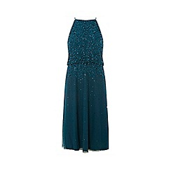 Dorothy Perkins - Showcase green ava may fit and flare dress