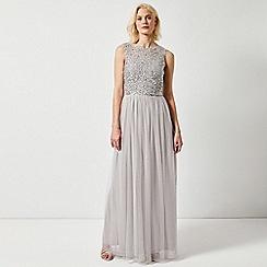 Dorothy Perkins - Showcase Tall Grey Harper Maxi Dress