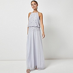 Dorothy Perkins - Showcase Petite Blue Ava Maxi Dress