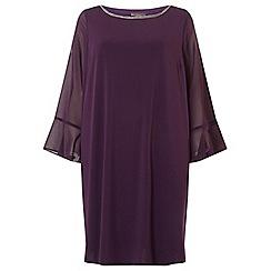 Dorothy Perkins - Billie & blossom curve purple shift dress