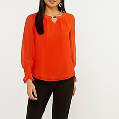 Dorothy Perkins - Billie and Blossom Petite Orange Blouse