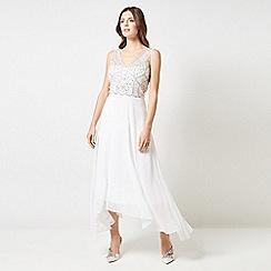 Dorothy Perkins - Showcase Bridal White Adele Maxi Dress