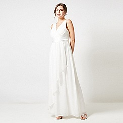 Dorothy Perkins - Showcase Ivory Bridal Phoebe Maxi Dress