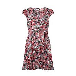 Dorothy Perkins - Billie & blossom petite pink floral print skater dress
