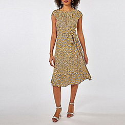 Dorothy Perkins - Billie & blossom multi colour floral print midi fit and flare dress