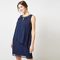 Dorothy Perkins - Billie & Blossom Navy Keyhole Trapeze Dress