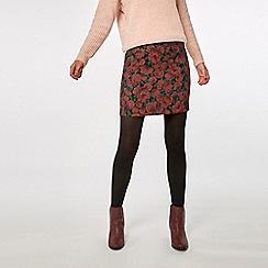 Dorothy Perkins - Rose floral jacquard mini skirt
