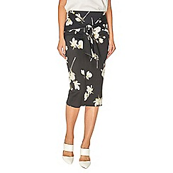 Dorothy Perkins - Black orchid tie pencil skirts