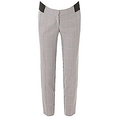 Dorothy Perkins - Maternity checked ankle grazer trousers