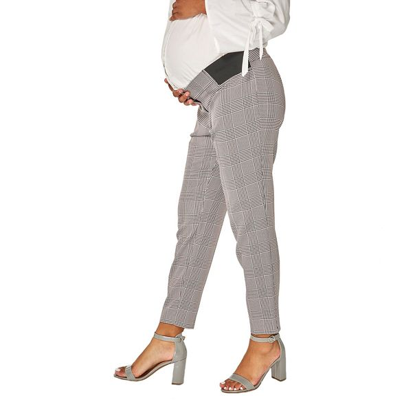 Perkins ankle grazer Maternity checked trousers Dorothy fn1TvqOwn