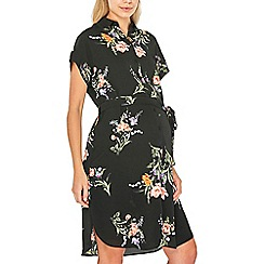 Dorothy Perkins - Maternity blossom short sleeve shirt dress