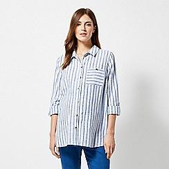 Dorothy Perkins - Maternity Stripe Cotton Slub Shirt