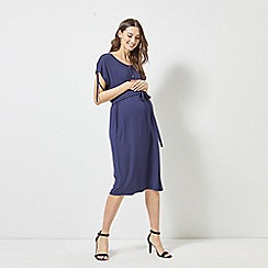 Dorothy Perkins - Maternity Navy Jersey Midi Dress