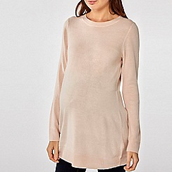 Dorothy Perkins - Maternity Blush Pebble Wrap Jumper
