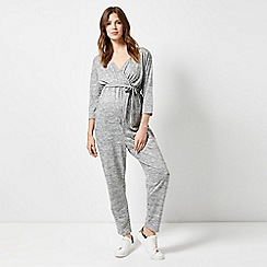 Dorothy Perkins - Maternity Grey Brushed Jumpsuit