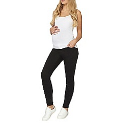 Dorothy Perkins - Maternity forever fit black jeans