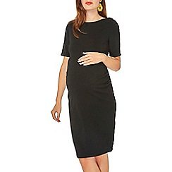 Dorothy Perkins - Maternity black bodycon dress