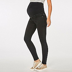 Dorothy Perkins - Maternity black darcy ankle grazer jeans