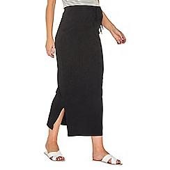 Dorothy Perkins - Maternity black maxi skirt
