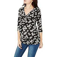 Dorothy Perkins - Maternity multi coloured spaced floral top