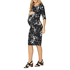 Dorothy Perkins - Maternity floral print bodycon dress