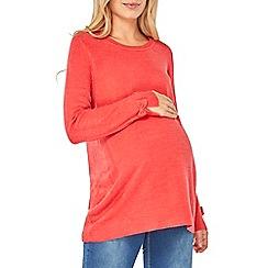 Dorothy Perkins - Maternity pink bow sleeve jumper
