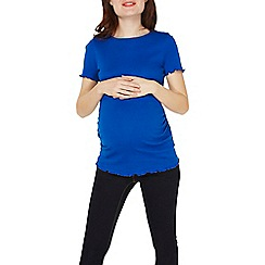 Dorothy Perkins - Maternity cobalt short sleeve t-shirt
