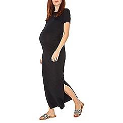 Dorothy Perkins - Maternity black maxi dress