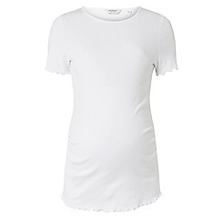Dorothy Perkins - Maternity ivory short sleeve t-shirt