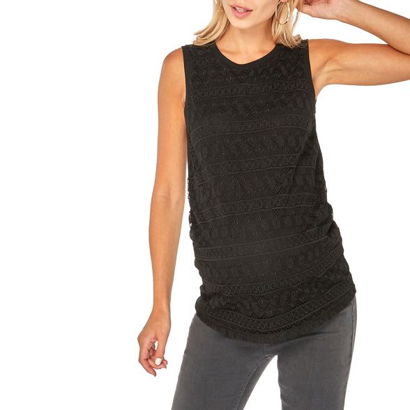 top black Maternity shell lace Perkins Dorothy ladder EqOwYPSRB