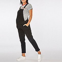 Dorothy Perkins - Black Denim Dungarees