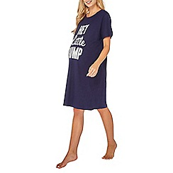 Dorothy Perkins - Maternity hey little bump slogan nightie