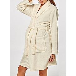 Dorothy Perkins - Maternity cream robe