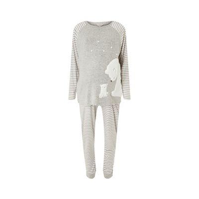 c6f217a7e8 Dorothy Perkins Maternity grey polar bear pyjamas