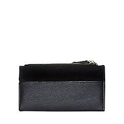 Dorothy Perkins - Black double zip purse