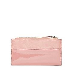 Dorothy Perkins - Rose double zip purse