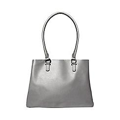 Dorothy Perkins - Grey snake print tote bag