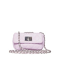 Dorothy Perkins - Lilac chain shoulder bag