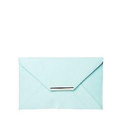 Dorothy Perkins - Mint envelope clutch
