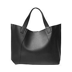 Dorothy Perkins - Black and grey shopper bag